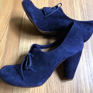 New Anthropologie Chie Mihara Oxfords Heels 8.5